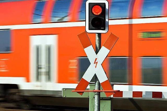 Viele Bahnübergänge bleiben ohne Schranken