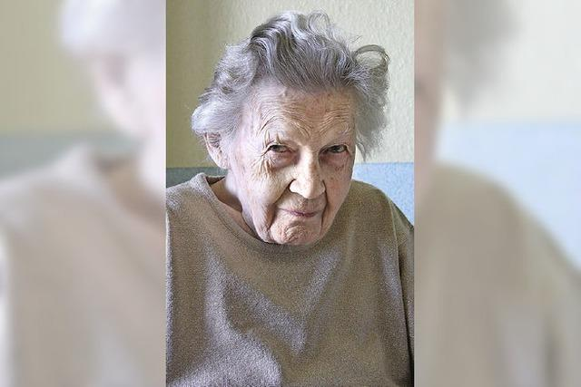 Lucia Marquard feiert 100. Geburtstag