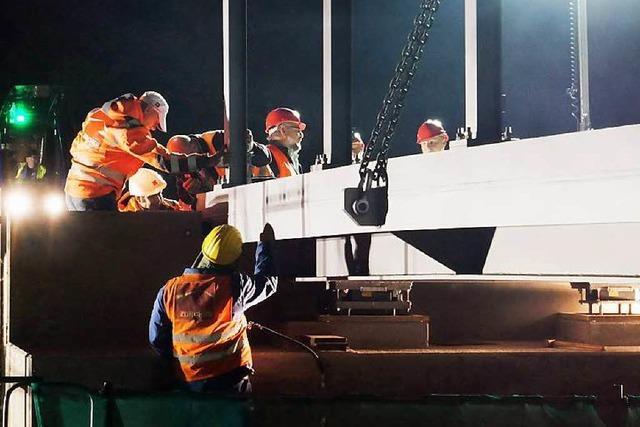 Positive Reaktionen auf neue Oberschopfheimer Brücke