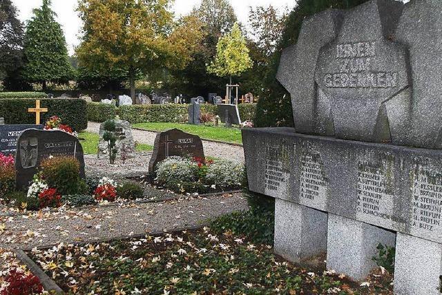 Lahr begeht am Wochenende den Tag des Friedhofs