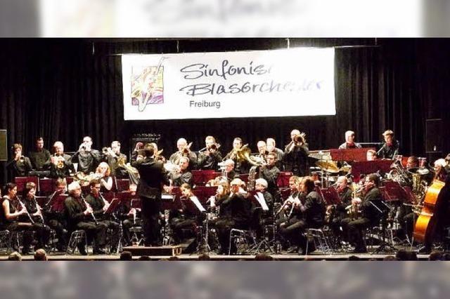 Sinfonische Blasmusik, die bewegt