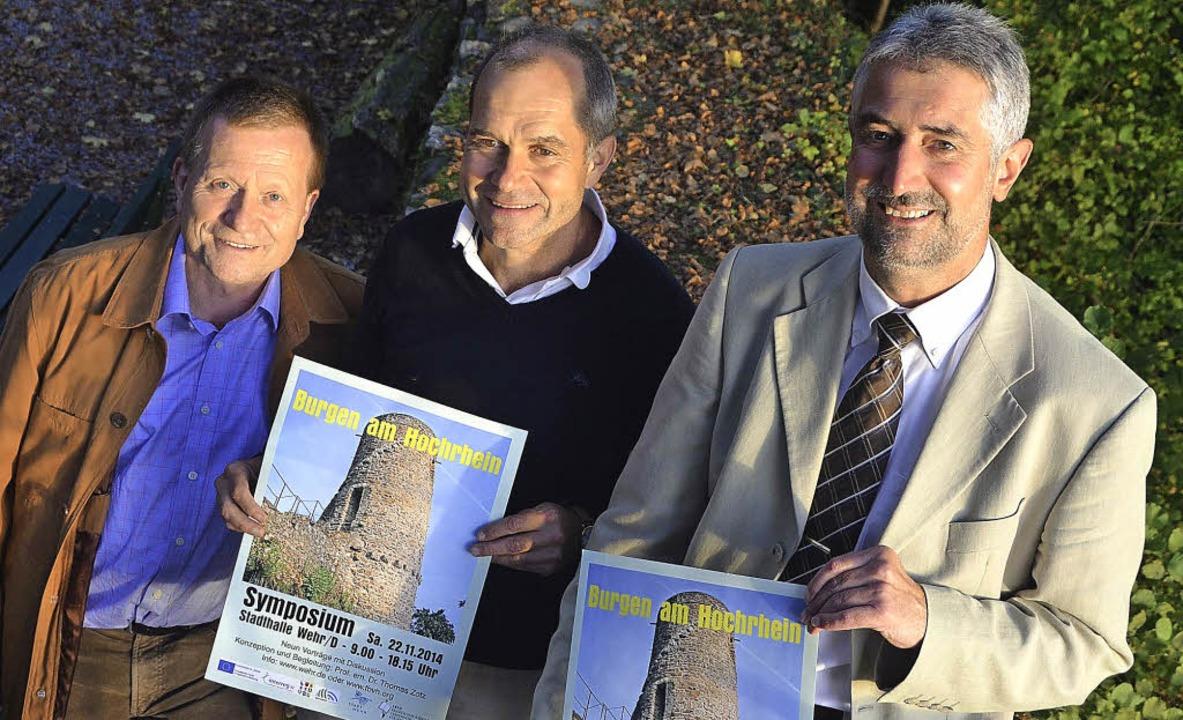 Sehen mit Freuden dem Burgensymposium ..., David Wälchli und Michael Thater.     | Foto: hrvoje miloslavic