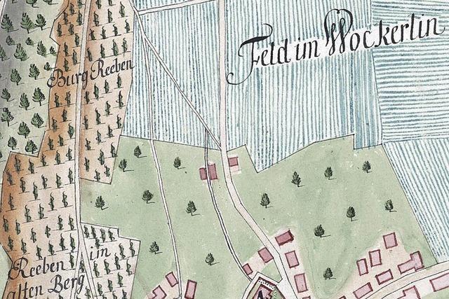 Flurnamen klingen mitunter wie böhmische Dörfer