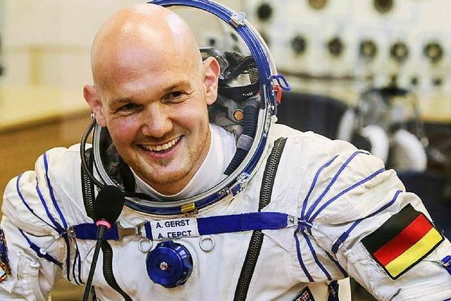 Gerst als dritter Deutscher auf Weltraumspaziergang