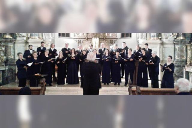 Chormusik aus Jahrhunderten