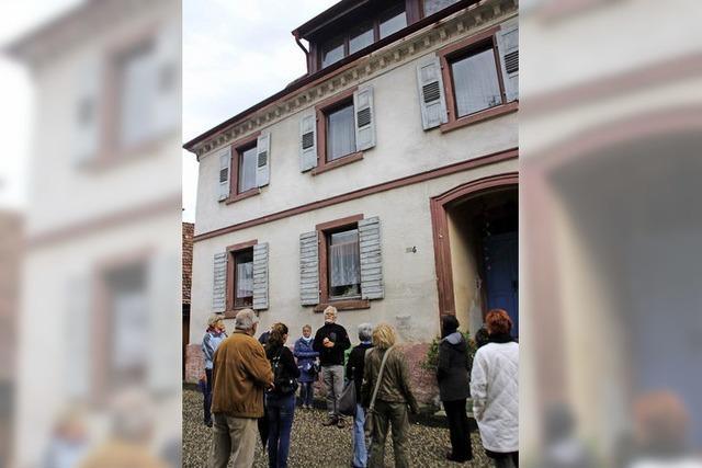 Die Synagoge ist ein Privathaus