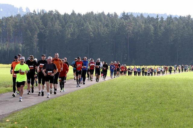 Ein Marathon als Naturerlebnis