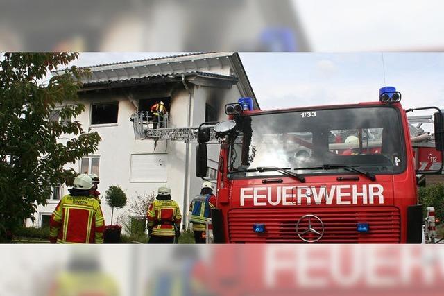Zwei Verletzte bei Wohnungsbrand in Binzen