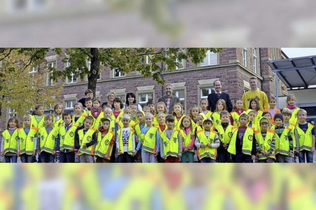 Gelb soll Schüler schützen