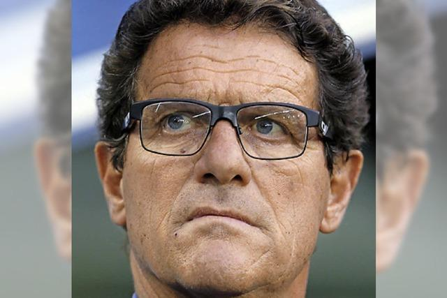 Russland-Coach Capello vor dem Rücktritt?