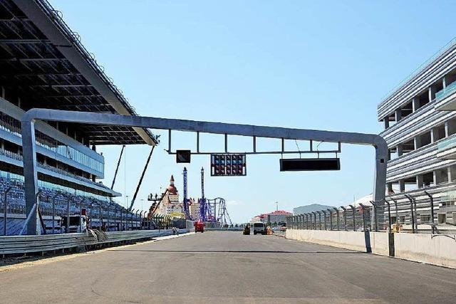 Formel 1 in Sotschi: Grand Prix von Putins Gnaden