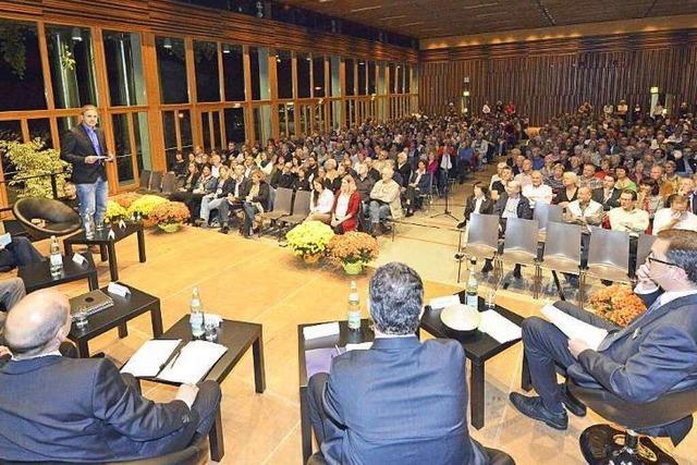 Fotos: BZ-Podiumsdiskussion in Gundelfingen