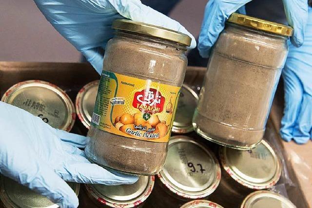 Drogenfahnder stellen 330 Kilogramm Heroin sicher