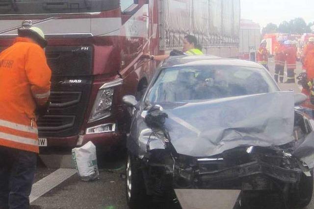 A5 nach schwerem Unfall wieder freigegeben