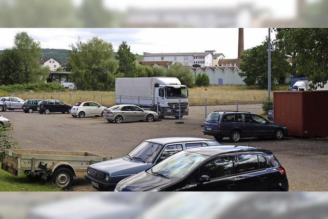 Geländekauf für Parkplätze
