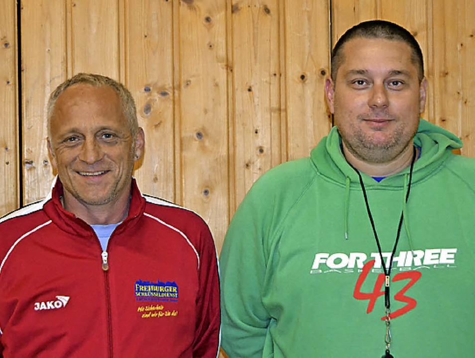 Neues Trainergespann bei den Dreisamti...anz Rees (links) und Damir Hasanovic.     Foto: privat