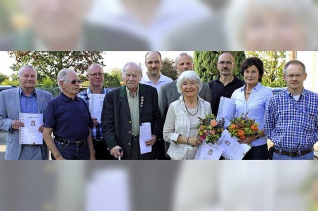 Rudolf Zibold seit 60 Jahren treuer Schützenbruder