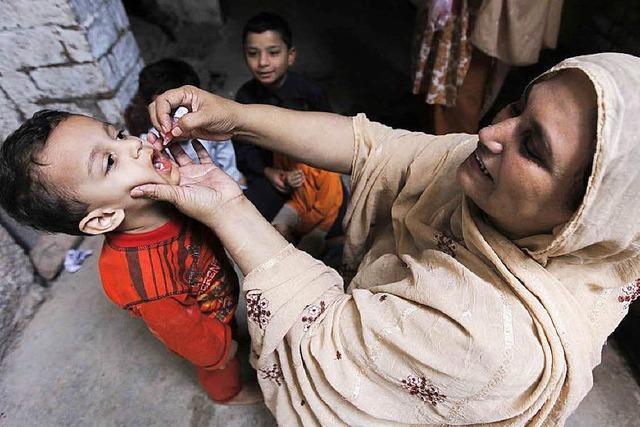 Kinderlähmung hält Pakistan in Atem
