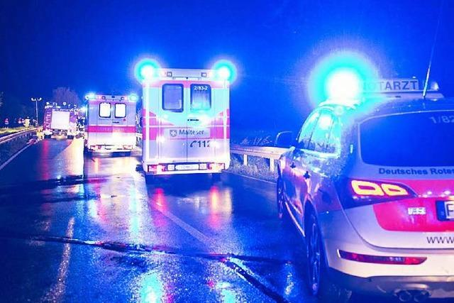 Senior löst Karambolage aus – 8 Verletzte