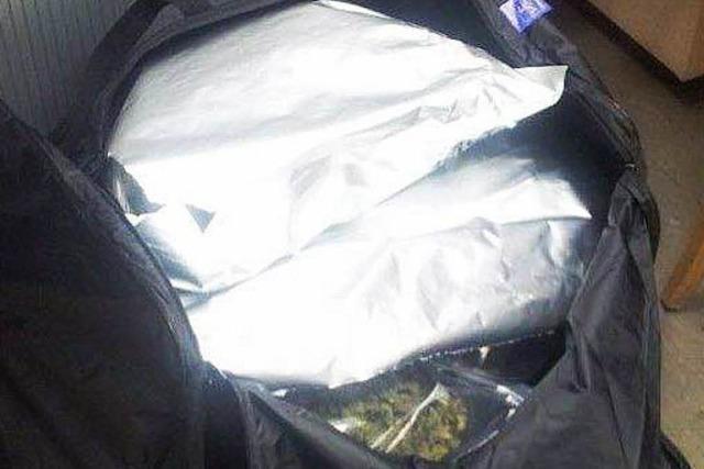 Fünf Kilo Marihuana beschlagnahmt