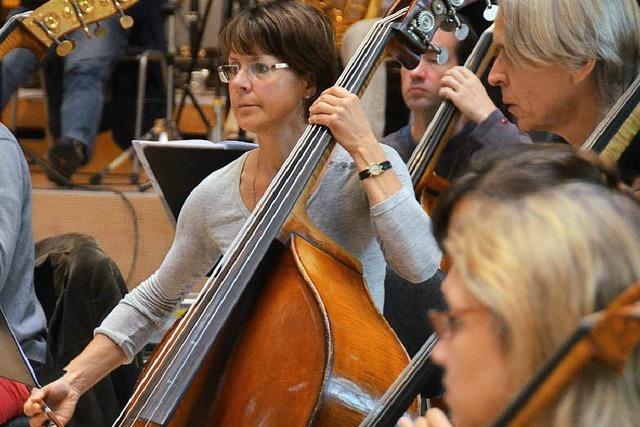 SWR Orchester probt im Forum