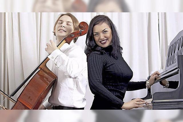 Weltklassik für Cello und Klavier