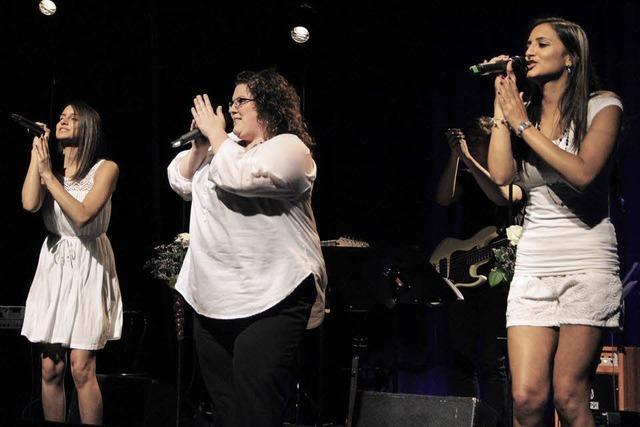 Drei Soul-Sängerinnen in Rümmingen