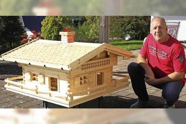 Ein Händchen für Häuser aus Holz
