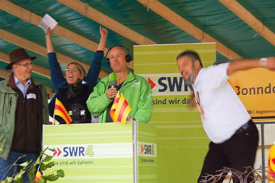 So sehen Sieger aus: Die Bonndorfer haben die Aufgaben bestens gemeistert. (Foto: Claudia Renk)