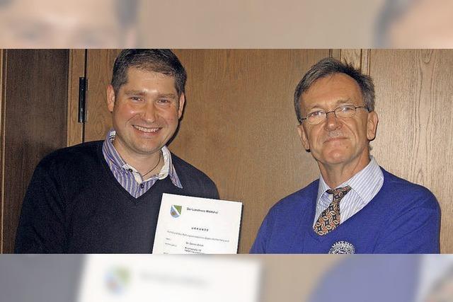 Daniel Arndt ist neuer Leitender Notarzt im Kreis