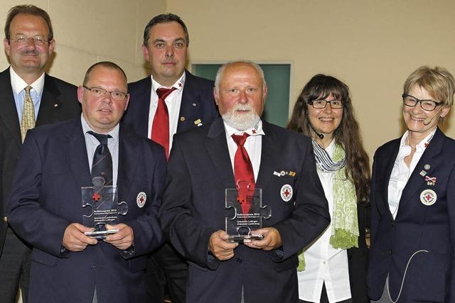 Preis des Roten Kreuzes für Defibrillator-Projekt