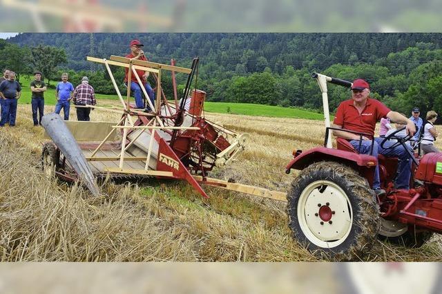 Begeistert von alter Landtechnik
