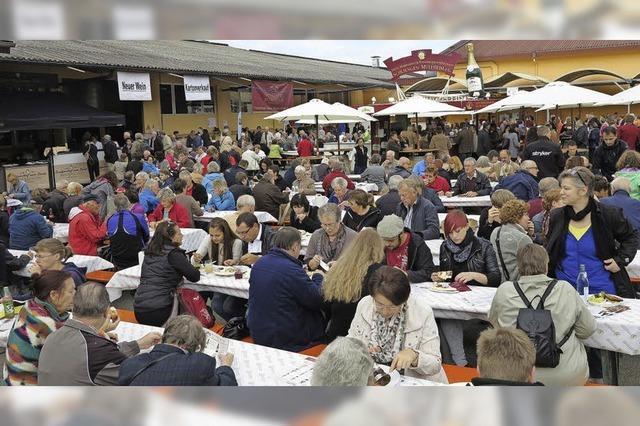 Volksfeststimmung in Schliengen