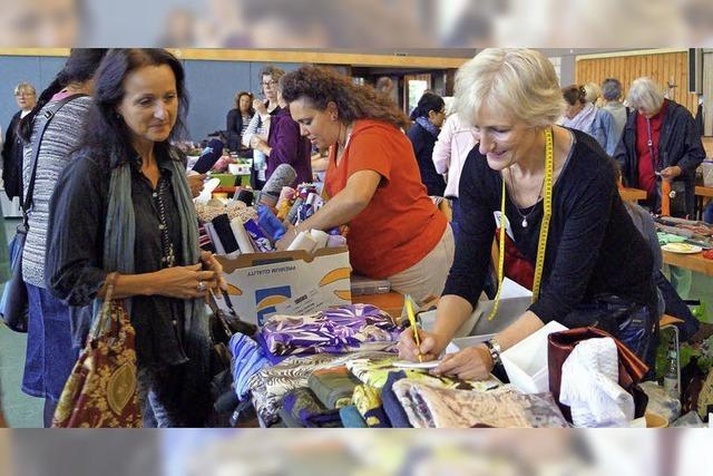 Flohmarkt für Spezialistinnen: Die Handarbeit erlebt einen Boom