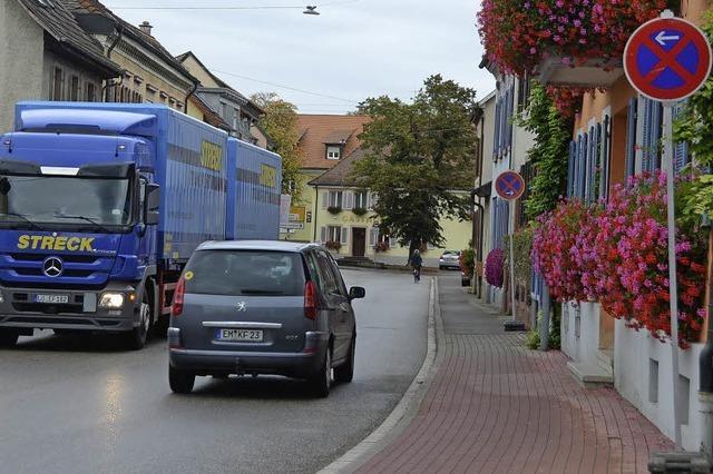 Halteverbote in Sasbach
