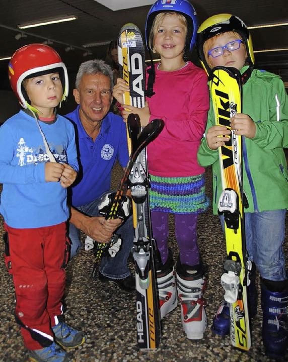 Besonders für die jungen Skifans bot d...nmal mehr  ein  reichhaltiges Angebot.  | Foto: SEDLAK