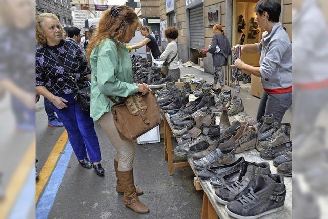 Unwetter in Genua verursachen Millionenschaden