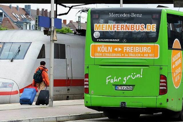 Fernbusse boomen weiter - nun wird es eng in den Städten