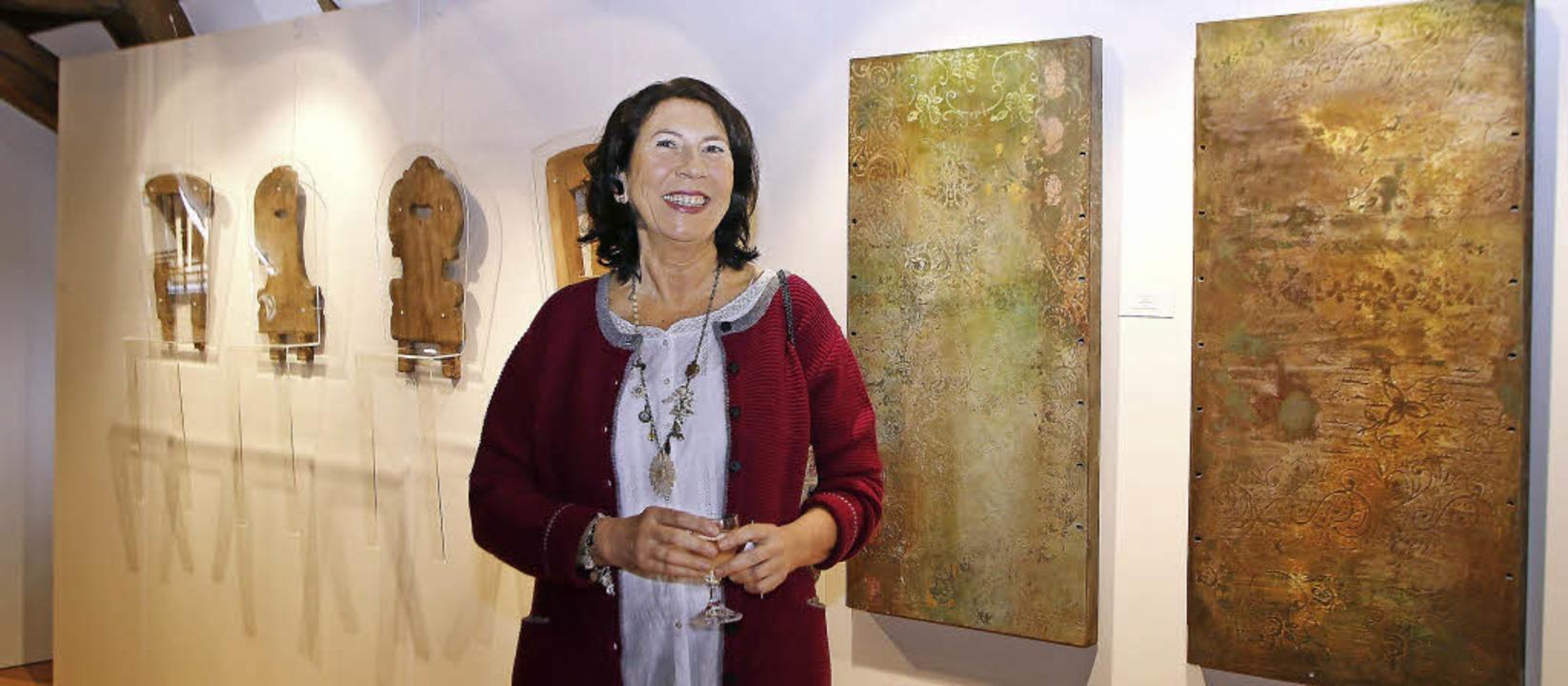 Dorothea Panhuyzens Sucherauge findet ... durch den Ausstellungskontext adelt.     Foto: Heidi Fößel