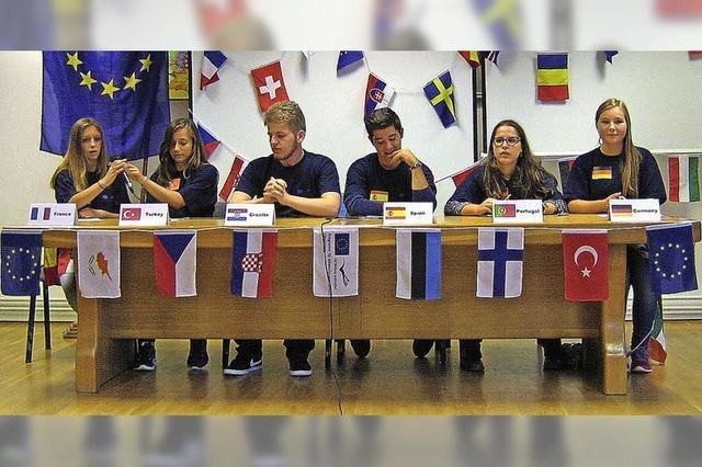Beitrag zur Entwicklung europäischer Identität