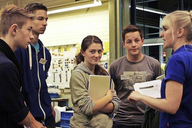 Erstes Schülerschnuppern bei WST
