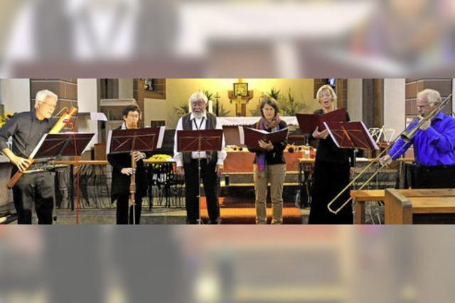 Himmlische Sphären dank alter Musikinstrumente
