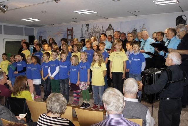 Freude am Gesang eint Generationen
