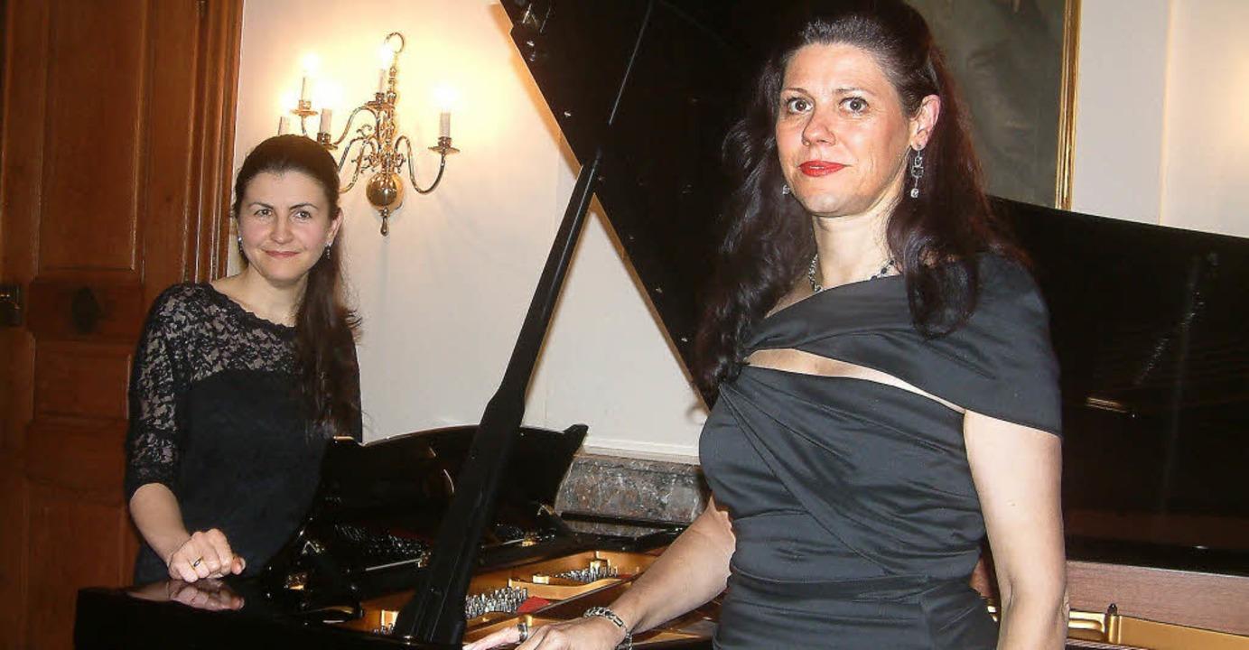 <Text>Die Mezzosopranistin Tanja Arian...orsunskaya in Schloss Beuggen. </Text>  | Foto: Roswitha Frey