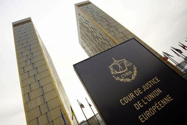 Vorgehen der Europäischen Zentralbank vor Gericht