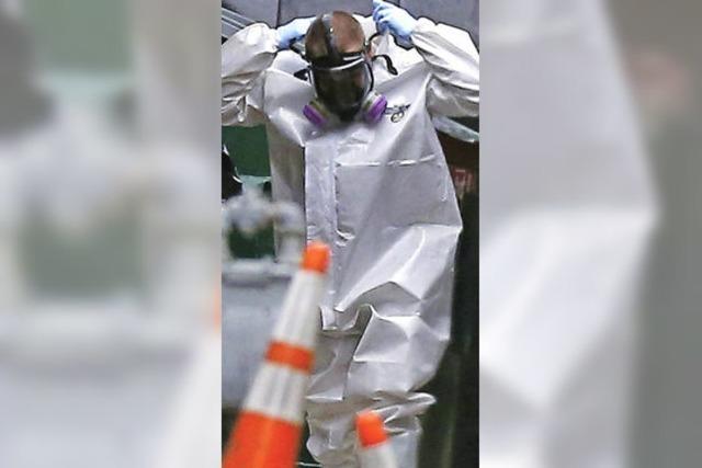 Ebola-Patient ist gestorben