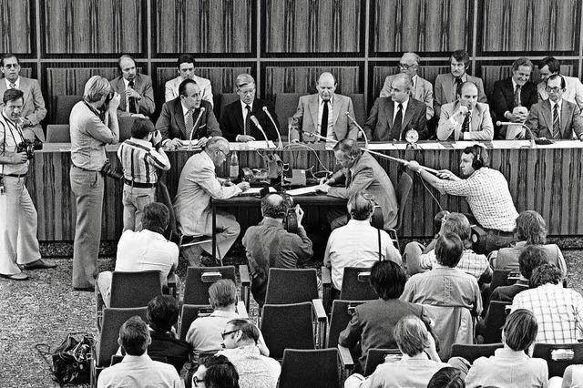 Bundespressekonferenz wird 65 Jahre alt