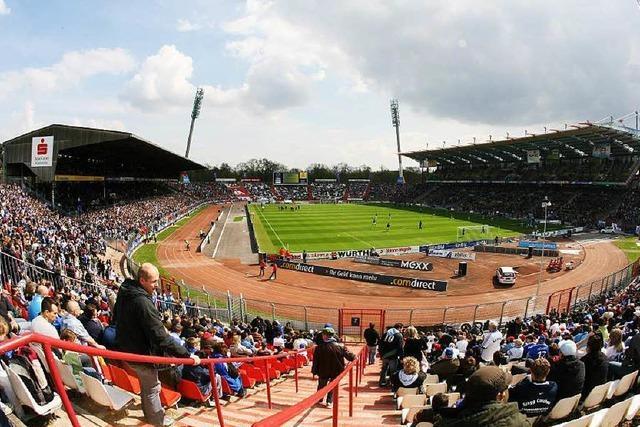 Neubau des KSC-Stadion wird zur Wahlkampf-Fortsetzung