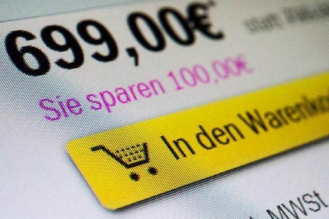 Preissuchmaschinen im Internet helfen beim Sparen