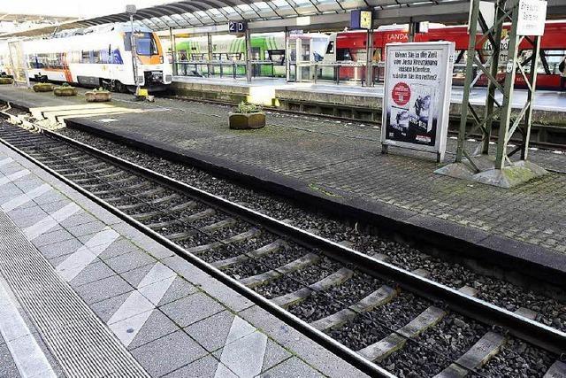 Bahnstreik: Wie es den Freiburger Bahnhof trifft